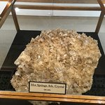 A nearly 1000 pound crystal as big as a dining room table