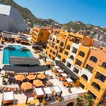Skypool Dayclub at Tesoro Los Cabos from the Lighthouse view