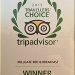 Number 1 B&B in the World 2015