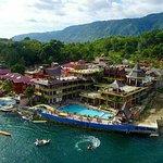 New Samosir cottages resort area