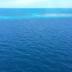 Our fly over the Blue Hole