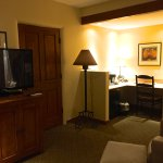 Work-station in 2nd King Suite.