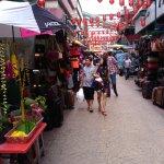 Chinatown street bazaar