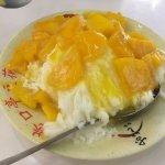 初のマンゴーかき氷!