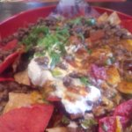 loaded nachos after being remade