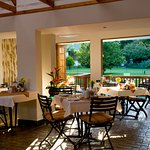 Dining  Room overlooking the pool