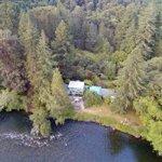 Drone picture McKenzie River Inn