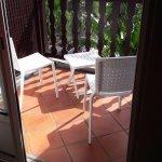 Petite terrasse chambre sans kitechentte