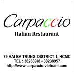 Pomodoro Restaurant changed to new name is Carpaccio