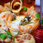 Camembert sharer dish