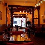 Restaurant Zest Derby interior