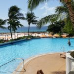 Whatever you do ,never miss out breakfast on your package at the Hilton Barbados. It's the buffe