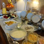 Start the day with a hearty breakfast - the Inveran Buffet