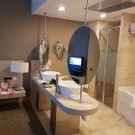 Ensuite bathroom in the suite bed room