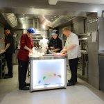 La cuisine...un travail d'équipe