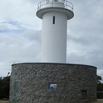 The Cape Tourville lighthouse
