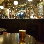 A pint of Allendale Mosaic at the Isis