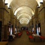 ESZTERGOM l'antica cantina - ora ristorante - sotto la cattedrale
