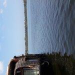 Lake and House boat