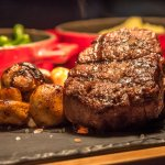 Prime cut steak, grilled to your perfection