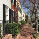 Side Street (either N or O) in Georgetown