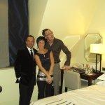 Chambre type du prestigieux hôtel...