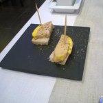 amuse-bouche de foie gras maison