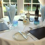Dining at The Rowborough for guests who choose Half Board