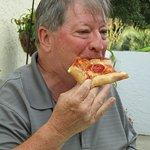 Steve...pepperoni is his favorite