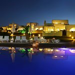 Angels Villas-General night view from the swimming pool
