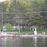 Enjoy a natural Wisconsin lake with towering pines and maples