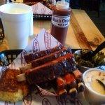 Delicious BBQ Ribs at Moe's