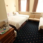 Large Family Room. 2 adults and 2 children. Prices from £110.00 per night