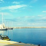 port of Heraklion.!