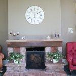 Cedar Lounge Fireplace