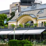 Meierei im Stadtpark, Vienna, Austria, our lunch in July 2016, highly recommended