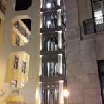 Ascenseur Santa Justa by night