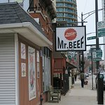 Mr Beef Sign