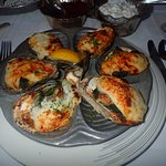 Oysters Florentine