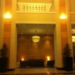 Le grand hall d'entrée!