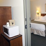 King room adjoins an accessible room