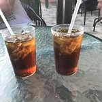 Rum and Coke Cheers to you all at Barbados Beach Club