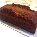 Entremet coco et passion et cake à l'orange