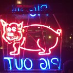 PIG OUT Neon