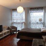 Studio apartment of Rotermanni Apartments (ap. 115)