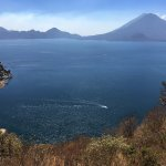 Lago Atitlan desde arriba