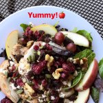 Nutty mix up salad