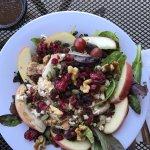 Jason's Deli nutty mix up salad