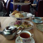 High Tea at The Rooms Cafe before devouring.