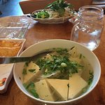 Pho with tofu: really good!